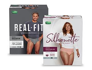 Depend Real Fit Silhouette Coupon