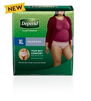 Depend Product Pack