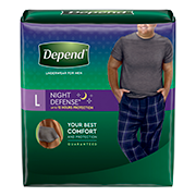 Depend® Night-Defense® large size for men