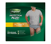 Depend Protection Plus for Men