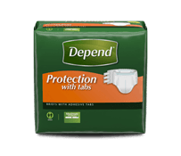 Depend® Protection with Tabs Package