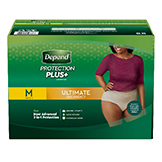 Depend Protection Plus for Women
