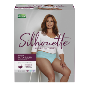 Silhouette Brief for Women product package.""