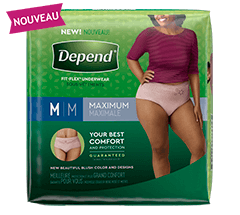 Fit Flex Underwear Maximum for Women package image