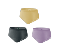 Silhouette Active Fit Underwear Beige Black and Lavender