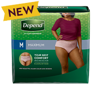 Depend® FIT-FLEX Maximum Absorbency Underwear for Women Package
