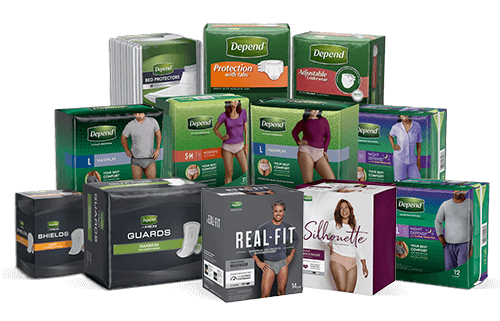 Help me choose Depend Incontinece Products