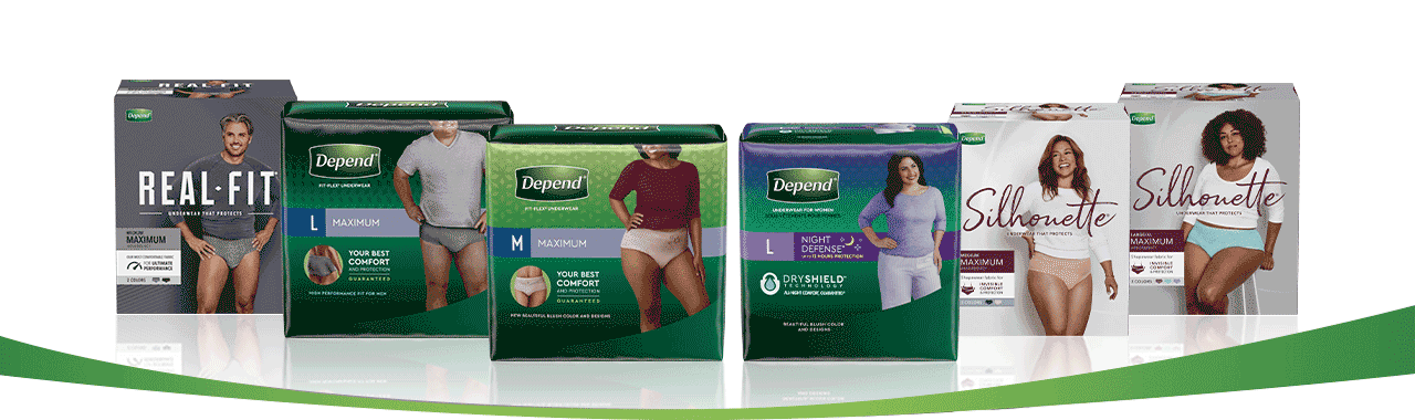 Depend Product pack image