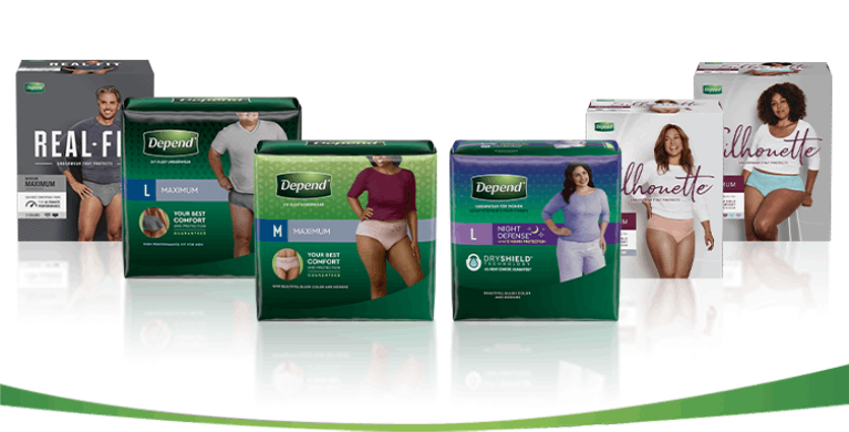 Depend Product pack image for tablet